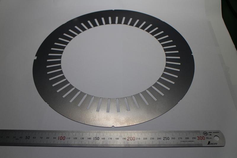 モーターコア(φ300×0.2mm)