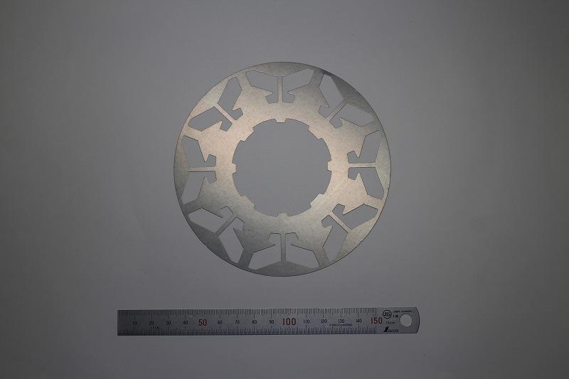 異形状孔モーターコア(φ110×0.2mm)