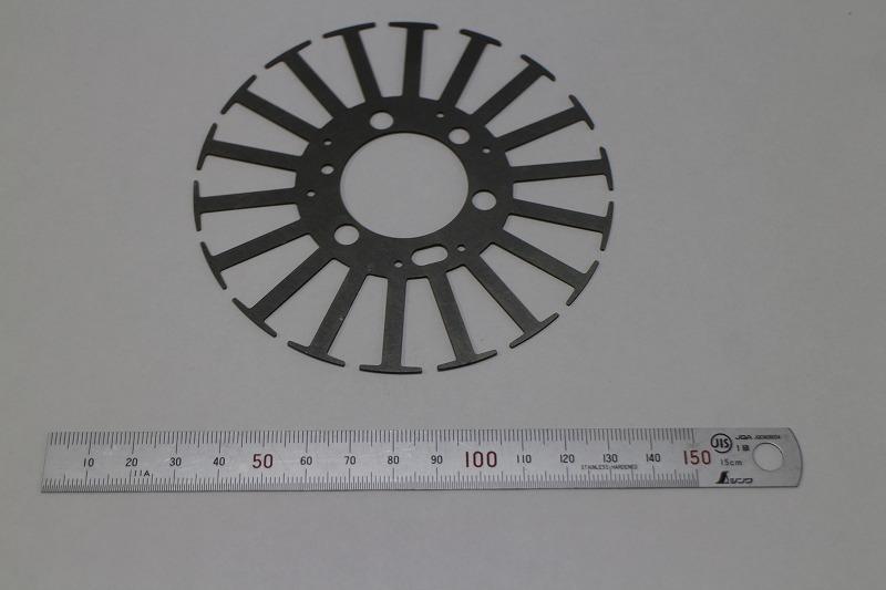 モーターコア(φ110×0.2mm)