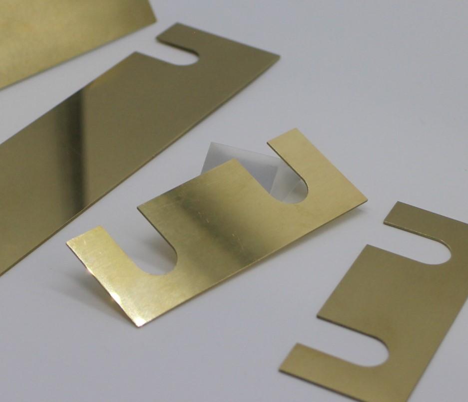 真鍮製 四角シムセット